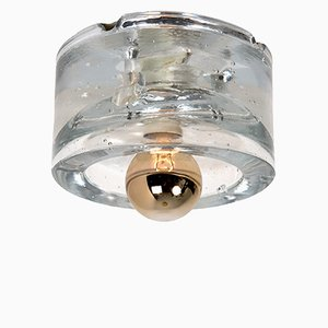 Handblown Ceiling Light from Peill & Putzler, 1960s