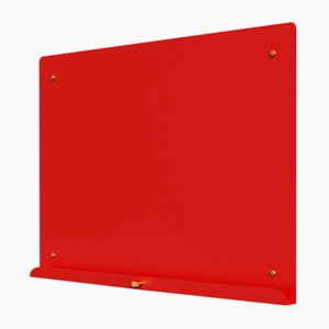 LDF Red Myosotis Grande Magnetic Notice Board by Richard Bell for Psalt Design, 2014