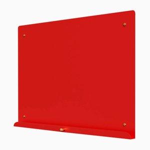 Pizarra magnética LDF Myosotis en rojo de Richard Bell para Psalt Design, 2014