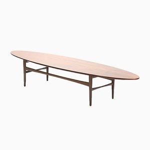 Table Basse Ovale de Pizzetti, 1960s