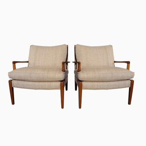 Model Löven Easy Chairs by Arne Norell, 1960s, Set of 2