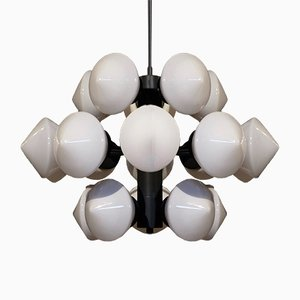 Large Swedish Chandelier by Fagerhults Belysning, 1960s