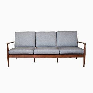 Mid-Century Palisander 3-Sitzer Sofa