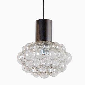 Mid-Century Bubbleglas Lampe von Helena Tynell & Heinrich Gantenbrink für Limburg, 1960er