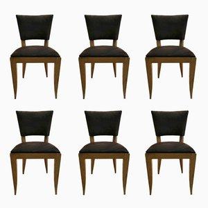 Stühle aus Eiche von Rodia, 1940er, 6er Set