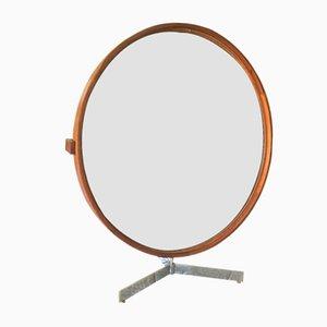 Miroir de Table par Uno & Östen Kristiansson pour Luxus, 1960s
