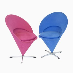 Chaises K1 Bag Chairs par Verner Panton, 1960s, Set of 2