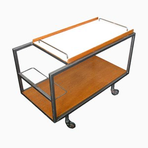 Mid Century Bar Cart by Georges Frydman