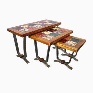 Tile Nesting Tables, 1960s