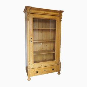 Victorian Pine-Glazed Cupboard