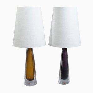 Tischlampen von Kosta, 1950er, 2er Set