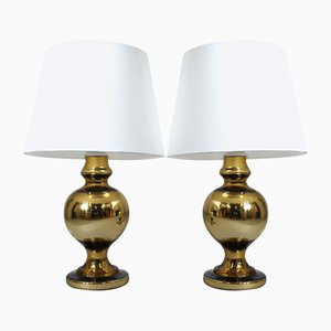 Table Lamps by Uno & Östen Kristiansson for Luxus, 1970s, Set of 2