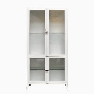 Vintage Medical Cabinet in Iron & Glass, 1950s