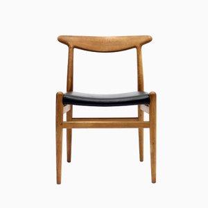 Chaise Modèle W2 par Hans J. Wegner pour C.M. Madsen, 1960s