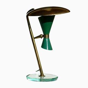 Italienische Mid-Century Tischlampe, 1950er