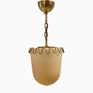Lámpara de techo Art Déco de Bolmarks, años 30