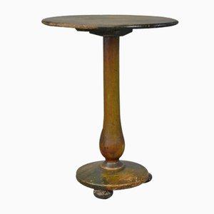 Mesa baja victoriana pintada a mano