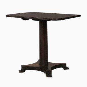 Table d'Appoint William IV Antique en Acajou