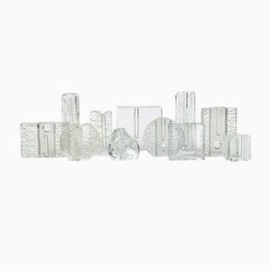 German Vases from Walther Glass, 1970s, Set of 11