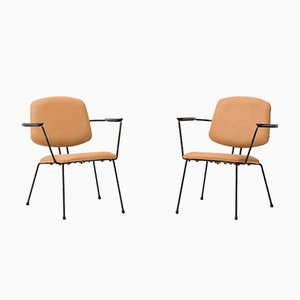 Model 5003 Armchairs by Rudolf Wolf for Elsrijk, 1950s, Set of 2