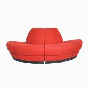 Space Age Modular Danish Sofa from Kinnarps