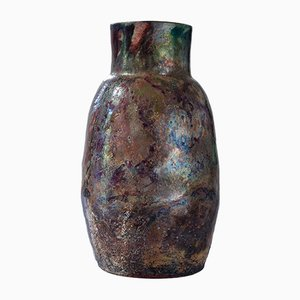 Naked Raku - Water Reduction I Vase by Paolo Spalluto, 2015