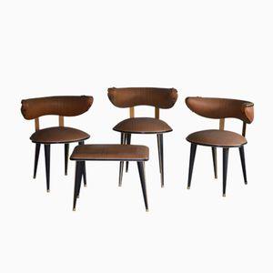 Beistellstühle & Hocker von Umberto Mascagni, 1960er