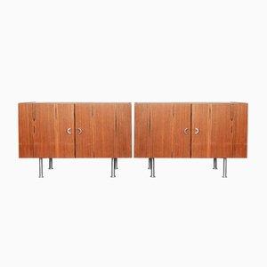 Dänische Palisander Sideboards, 1970er, 2er Set