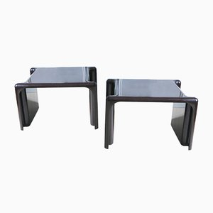 Tables d'Appoint par Giotto Stoppinio pour Elco Scorze, 1960s, Set de 2