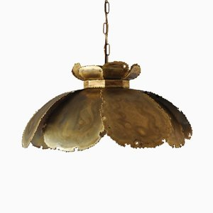 Brass Pendant Lamp by Svend Aage Holm Sørensen, 1960s