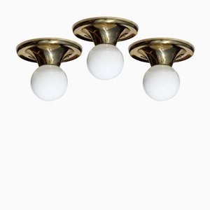 Model Light Ball Ceiling Lamps by Castiglioni Brothers for Flos, 1960s, Set of 3