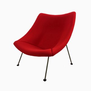 Vintage Oyster Chair by Pierre Paulin for Artifort, 1965