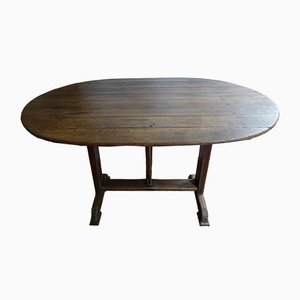 Vintage French Vineyard Table