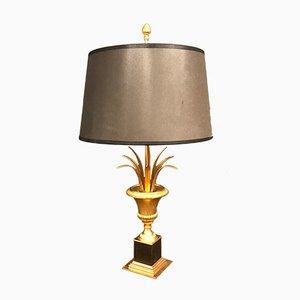Hollywood Regency Palmen Tischlampe, 1960er