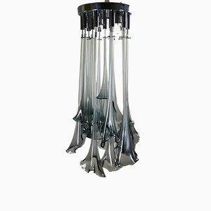 Lámpara de araña Calle de Gino Poli & Sergio Fantasia para Sothis, 1972