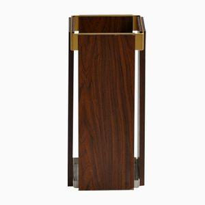 Wooden Veneered Umbrella Stand, 1960s