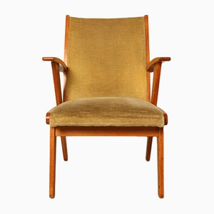 Niederländische Sessel aus Eiche, 1950er