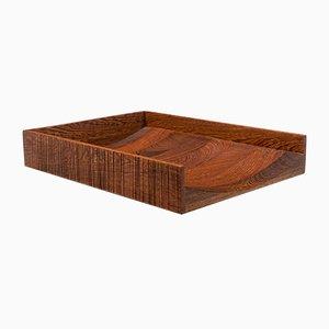 Portalettere Sanka in legno di Garth Roberts