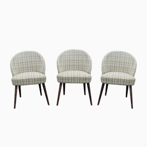 Mid-Century German Club Chairs, 1950s, Set of 3