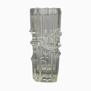 Glass Vase by Vladislav Urban for SKLO-Union Rosice, 1968