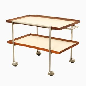 Rosewood & Formica Serving Trolley by Poul Nørreklit for E. Pedersen and Son, 1960s