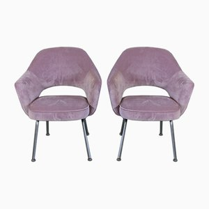 Poltrone di Eero Saarinen per Knoll International, anni '50, set di 2