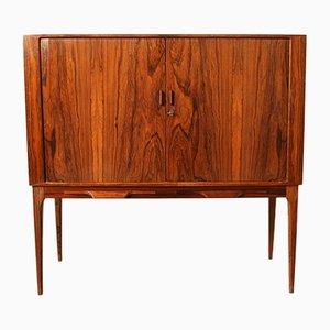 Mueble bar de palisandro de Kurt Østervig para KP Møbler, años 60