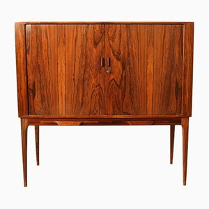 Rosewood Bar Cabinet by Kurt Østervig for KP Møbler, 1960s