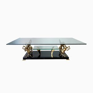 Table Basse Chevaux, Italie, 1980s