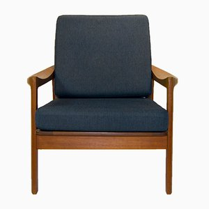 Easy Chair by Tove & Edvard Kind-Larsen for Gustav Bahus, 1950s