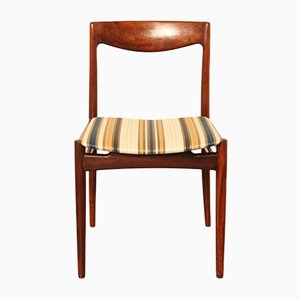 Danish Solid Rosewood Dining Chair, 1960s