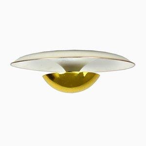 Lámpara de techo de Gino Sarfatti para Arteluce, años 50