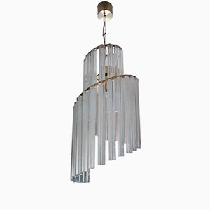 Vintage Chandelier by Pia Guidetti Crippa for Lumi