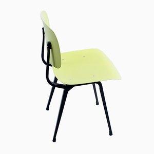 Revolt Stuhl aus schwarzem und gelbem Ciranol von Friso Kramer für Ahrend De Cirkel, 1950er